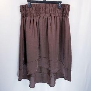 4/$20 Lane Bryant Elastic Waist Midi Skirt 20